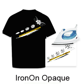 "Iron On Opaque Transfer Paper (8.5""X11"","